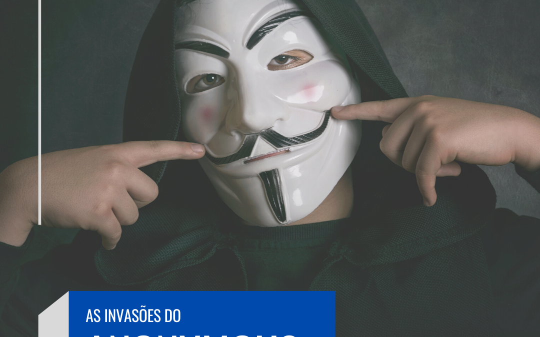 As invasões do grupo Anonymous atinge EUA